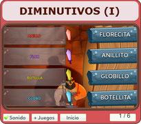 DIMINUTIVOS  (I)