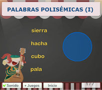 PALABRAS POLISÉMICAS (I)