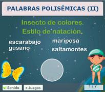 PALABRAS POLISÉMICAS (II)