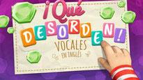 Ordenar las vocales en inglés