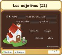 Los adjetivos (II)