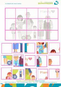 Puzzle Día de la Familia