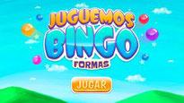 Juguemos bingo: formas
