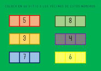 Número anterior y posterior
