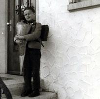 Mein erster Schultag - Herbst 1961