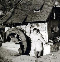 Im Kurgarten - Herbst 1960