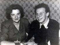 Meine Eltern - Bei ihrer Verlobung, 1951