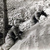 Mit Cousin Willi im Hexenloch - 1958