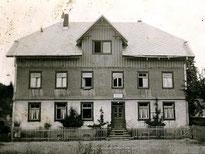 Haus Kaltenbach - Wohnung meiner Eltern und Grosseltern, 1954