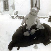 Überlebt - Nach langem Klinikaufenthalt - Auch Dank der Ente, Winter 1956