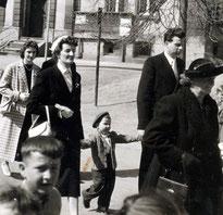Mit meinen Eltern in Betra - 1957