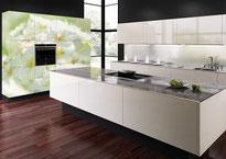 #Raumdekor #Bildwelt #Kunst, Glastreppe und Wandbild als Raumgestaltung