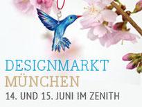 """der blau-bunte Kolibri als """"Hauptdarsteller"""" bei der Werbung für den DaWanda Designmarkt in München ... von DaWanda in Szene gesetzt … wow!"""
