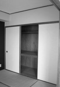 リビング横の和室 Before マスタードリフォーム