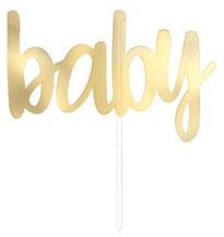 """Taart Topper """"Baby"""" € 1,95 15x 16cm"""