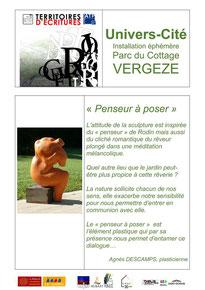 Agnès DESCAMPS, sculpteur