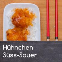 Hühnchen Süss-Sauer