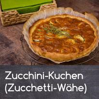 Zucchini-Kuchen (Zucchetti-Wähe) Rezept