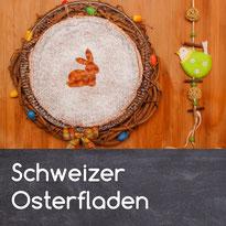Osterfladen Osterkuchen Osterchüechli Schweiz Schweizer Basler Osterfladen Reis Griess Rezept selber machen selber backen