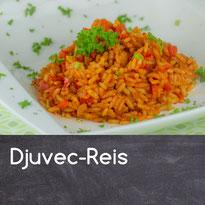 Djuvec-Reis Rezept