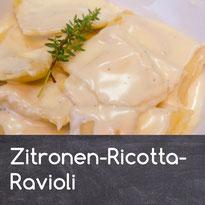 Zitronen-Ricotta Ravioli Rezept