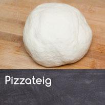 Pizzateig selber machen Pizza selber machen Rezept Pizzateig