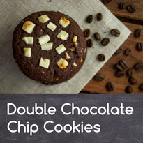 Double Chocolate Chip Cookies Rezept