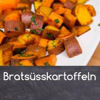Bratsüsskartoffeln Rezept