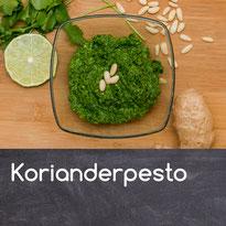 Korianderpesto Rezept