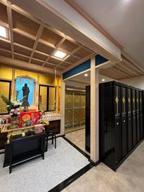 法通寺の納骨堂