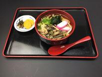 茶の里野菜村 うどん/そばメニュー
