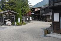 江戸の面影を残す奈良井の宿