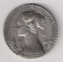 Medaglia per il 30° Anniversario della Repubblica Italiana.