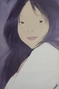 初始伊春 ANGEL VOICE 120×80 布面油画 OIL ON CANVAS 2011