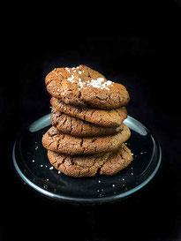 Schoko-Roggenbrot-Cookies
