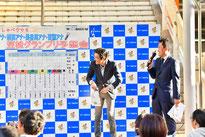 笠松GPの予想会は、仮想実況で予想を披露