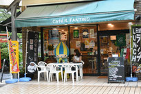 カフェ・イル・ファンティーノで一休み