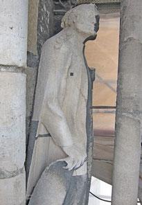 Prophetenfigur S1, Zwischenzustand