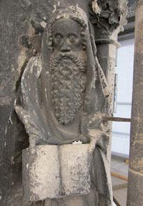 Parler Figur, 1374, Ulmer Münster, Vorzustand