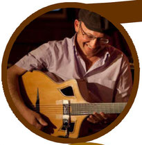 Pierre Kamlo Barre - Stage Guitare Jazz Manouche Camping Gers