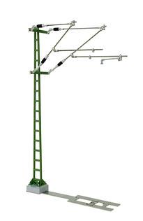 MOFI Doppelausleger Oberleitung für Spur-G / Gartenbahn PIKO und LGB