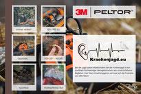 3M Peltor für die Krähenjagd
