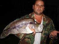 Pesca de Guapote en Lago Arenal