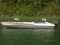 Lancha para pesca Lago Arenal