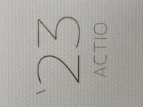 中学生・高校生(中高生)が自己管理手帳のACTIO手帳にデコレーションしやすい紙質を採用しました。