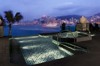 Intercontinentale Hotel Hongkong in Top Lage in Kowloon mit Top Pool.