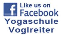 Logo Facebook mit Link Verbindung zu Yogaschule Schulungszentrum Voglreiter Bad Reichenhall