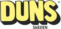 DUNS Schweden, skandinavische Kindermode, logo
