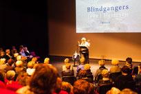 Foto Carla Hoffman van presentatie Joke Hermsen voor KVG Goirle