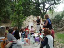 Rando grillades à la Cabane du Garde : 9 juin 2013